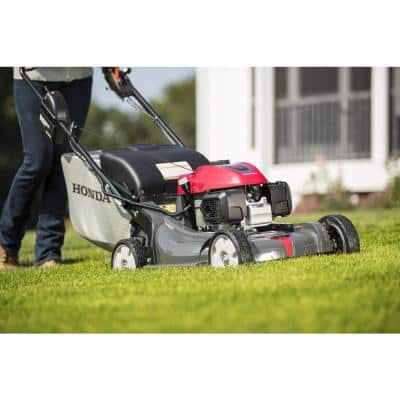 HRX NeXite Deck 21 in. GCV200 Electric Start Self Propelled Walk Behind Gas Hydrostatic Mower with Roto-Stop