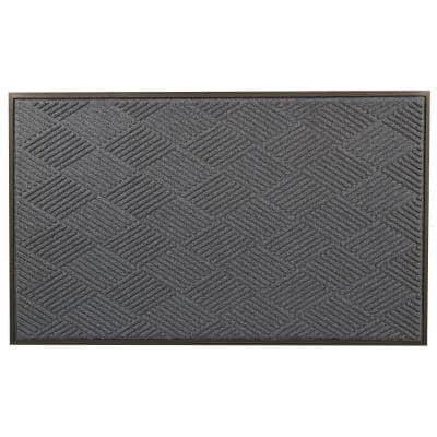 Opus Blue 48 in. x 72 in. Rubber-Backed Entrance Mat