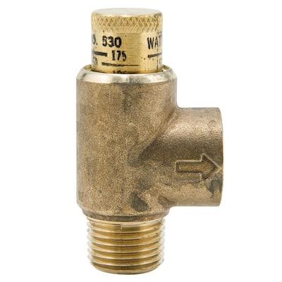 1/2 in. Lead Free Brass Pressure Relief Valve