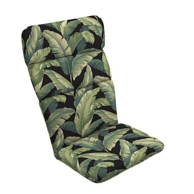20 x 45.5  Onyx Cebu Outdoor Adirondack Chair Cushion