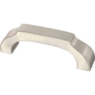 Winged 3 in. (76 mm) Satin Nickel Drawer Pull