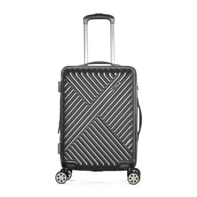 Matrix 21 in. Gray Expandable Carry-On Spinner with TSA Lock
