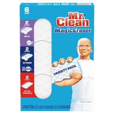 Magic Erasers Multi-Purpose Cleaning Sponge (6-Count)