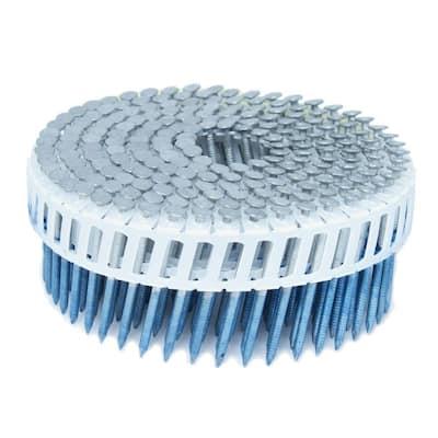 1.75 in. x 0.092 in. 15-Degree Ring Hot Dip Plastic Sheet Coil Siding Nail 3,200 per Box