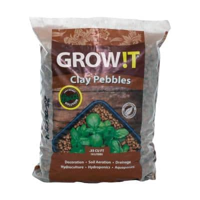 PLANT!T 8 mm to 16 mm 10 l Stable pH Soil Aeration Clay Pebbles