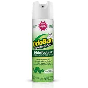 14.6 oz. Eucalyptus Disinfectant Spray, Odor Eliminator, Sanitizer, Fabric and Air Freshener, Multi-Purpose Cleaner