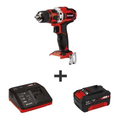 PXC 18-Volt MAX 1500 RPM Cordless 1/2 in. Power Drill/Driver Kit (with 3.0 Ah Battery Plus Fast Charger)