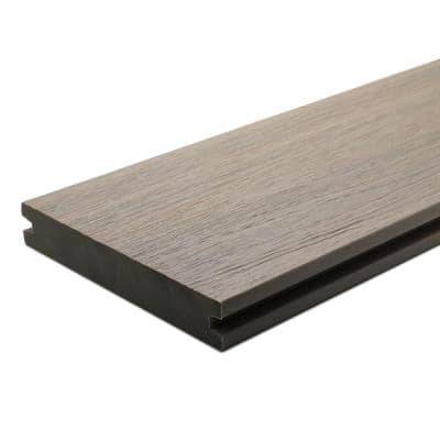 UltraShield Naturale Magellan 1 in. x 6 in. x 16 ft. Roman Antique Groove Composite Decking Board (10-Pack)