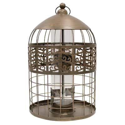 Grand Palace Caged Bird Feeder