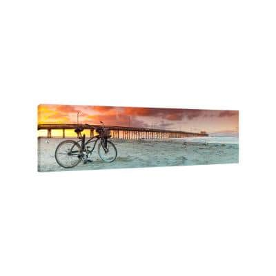 Gone Surfing by Colossal Images Canvas Wall Art 12 in. x 36 in.