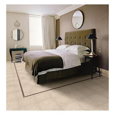 Laguna Bay 12 in. x 12 in. Cream Ceramic Floor and Wall Tile (14.53 sq. ft. / case)