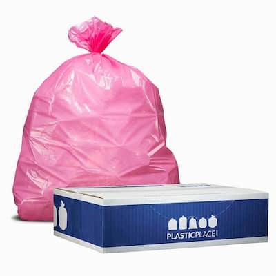 12-16 Gal. Pink Trash Bags (Case of 250)