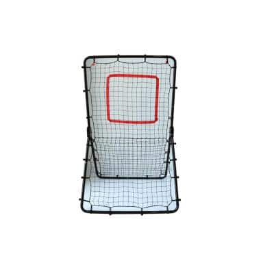 Baseball Pitchback Adjustable Rebounder Net Trainer