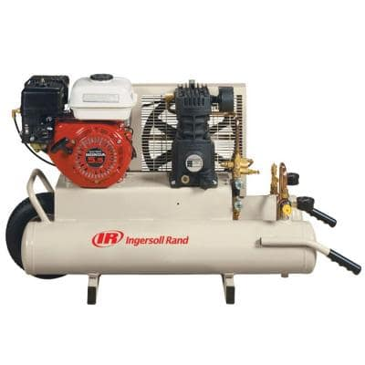 Reciprocating 8 Gal. 5.5 HP Portable Gas Wheelbarrow Air Compressor
