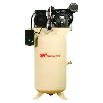 Type 30 Reciprocating 80 Gal. 7.5 HP Electric 200-Volt 3 Phase Air Compressor