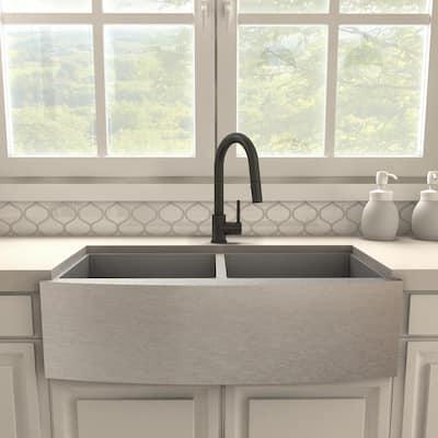 ZLINE Dante Kitchen Faucet in Matte Black (DNT-KF-MB)