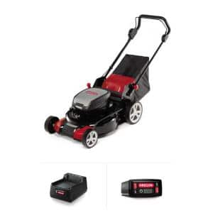 LM400 20 in. 40-Volt Battery Walk Behind Push Lawn Mower with 1 4.0 Ah Battery and 1 C600 Standard Charger