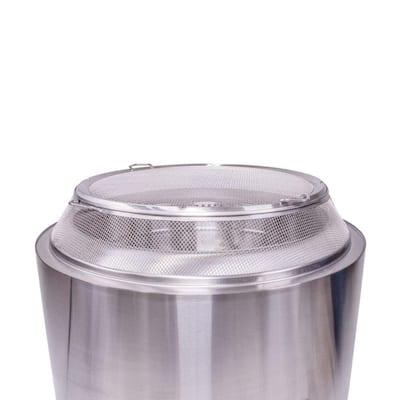 Yukon Shield 27.25 in. Round Stainless Steel Spark Arrestor
