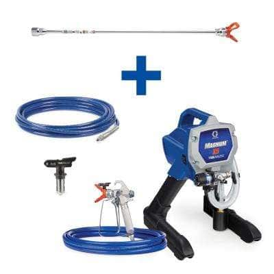 Magnum X5 Stand Airless Paint Sprayer with 20 in. Extension, 25 ft. Hose and TRU315 Tip