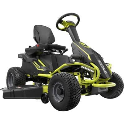 48V Brushless 38 in. 75 Ah Battery Electric Rear Engine Riding Lawn Mower