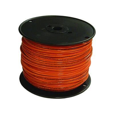 500 ft. 16 Orange Stranded CU TFFN Fixture Wire