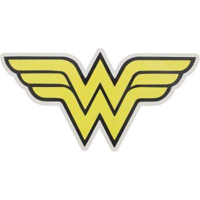 WonderWoman Outdoor Logo Graphic- Large