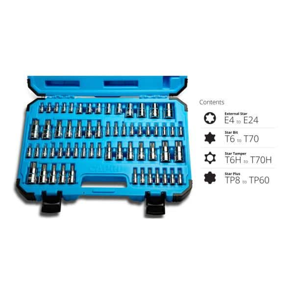 Pz 1-10 Piece Langbit 150mm Torx Ph