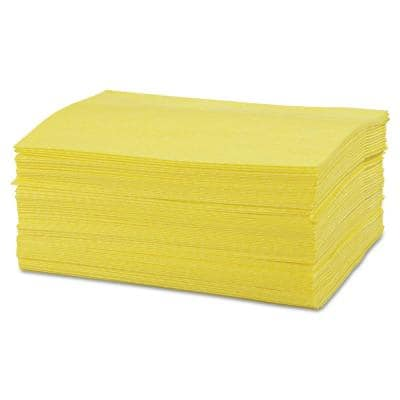 24 in. x 16 in., Yellow Masslinn Dust Cloths, 400/Count