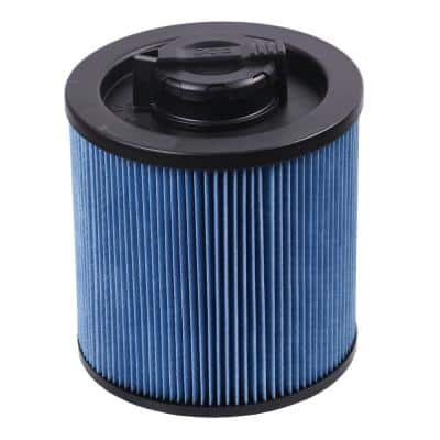 6 Gal. to 16 Gal. Cartridge Filter for High Efficiency Wet/Dry Vacuum