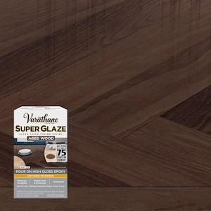 1 qt. Gloss Aged Brown Super Glaze Finish and Preservative
