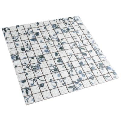 Strawberry Fields 11-5/8 in. x 11-5/8 in. x 6 mm Porcelain Mosaic Tile (0.94 sq. ft./Each)