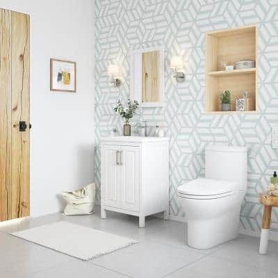 Wilma Elongated Electric Bidet Toilet in White
