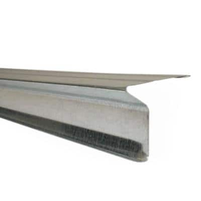 2-1/8 in. x 1 in. x 10 ft. Aluminum Eave Drip Flashing