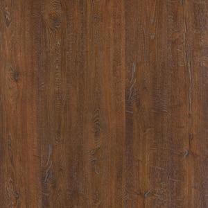 Outlast+ 6.14 in. W Auburn Scraped Oak Waterproof Laminate Wood Flooring (16.12 sq. ft./case)