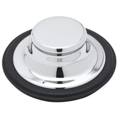 Garbage Disposal Stopper in Polished Chrome