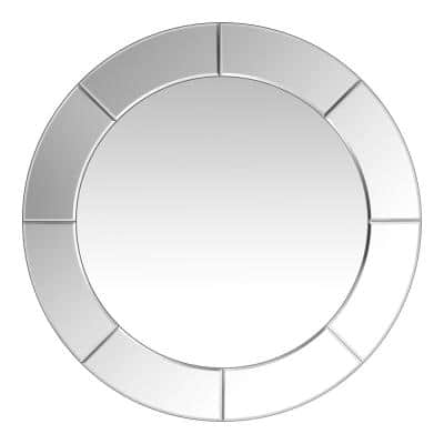 Medium Round Classic Mirror (29 in. Diameter)