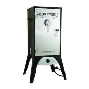 Smoke Vault 18 in. Propane Gas Smoker