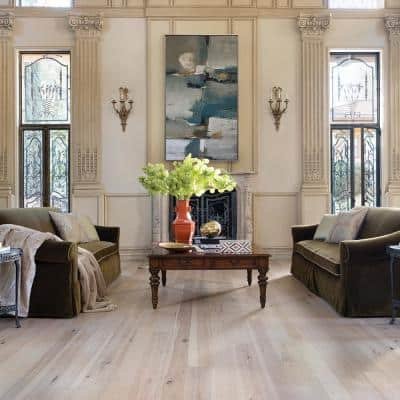 Hickory Crescent 1/2 in. T x 5 in.&7 in. Multi-Width x Varying Length Engineered Hardwood Flooring (24.93 sq. ft./case)