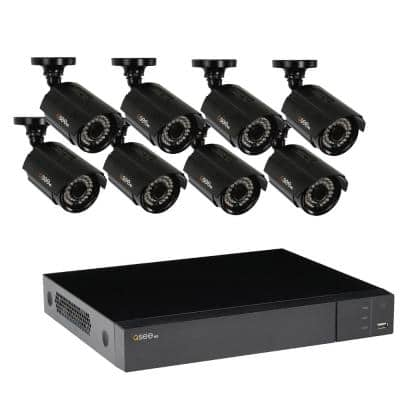 8-Channel 1080p 1TB Video Surveillance System with 8 HD Cameras and 100 ft. Night Vision