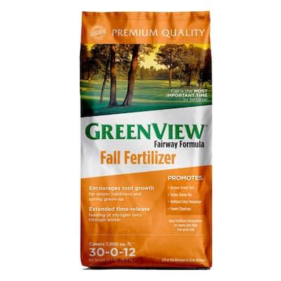 Fairway Formula 22.5 lbs. 7500 sq. ft. Fall Lawn Fertilizer (30-0-12)