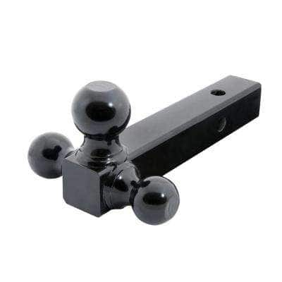Up to 10,000 lb. 1-7/8 in., 2 in, and 2-5/16 in. Ball Diameters Class III TriBall Adjustable Trailer Hitch Ball Mount