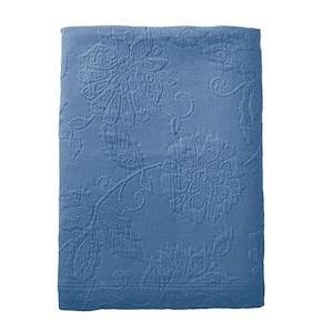 Putnam Matelasse Denim Cotton King Bedspread