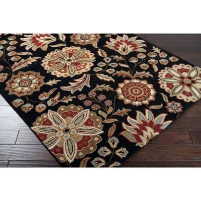 Alstonia Red 2 ft. x 4 ft. Hearth Indoor Area Rug