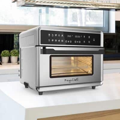 1800 W 10-in-1 Countertop Stainless Steel Multi-function Toaster Oven