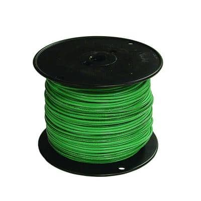 500 ft. 18 Green Stranded CU TFFN Fixture Wire