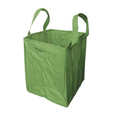 48 Gal. Multi-Purpose Re-Usable Heavy-Duty Garden Leaf and Debris Bag with Reinforced Straps and Side Handles