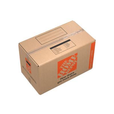 27 in. L x 15 in. W x 16 in. D Heavy-Duty Large Moving Box with Handles (20-Pack)