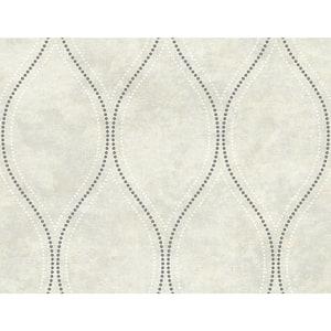 Eira Ivory Marble Ogee Sample Ivory Wallpaper Sample