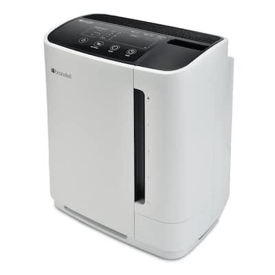 O2+ Revive TrueHEPA Air Purifier Humidifier in White