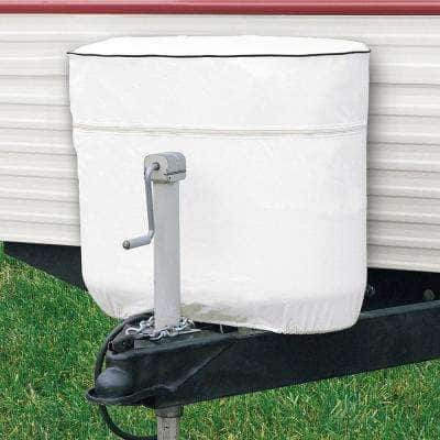 Overdrive 28 in. L x 12.5 in. W x 25 in. H RV Tank Cover White Double 30/7.5